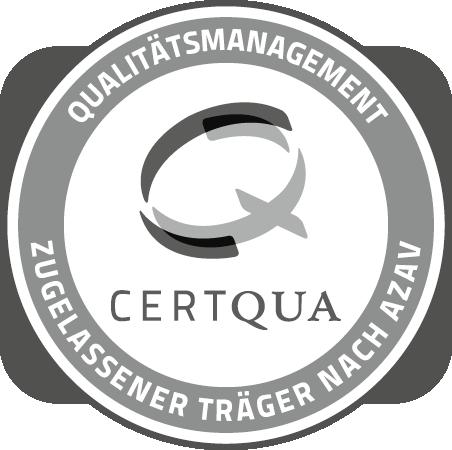 Certqua Zertifiziert nach AZAV
